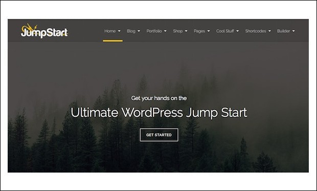 Jumpstart - WordPress Theme Frameworks