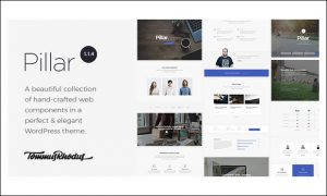 Pillar - WordPress Theme Frameworks