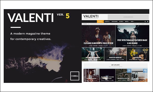 Valenti - bbPress Compatible WordPress Themes