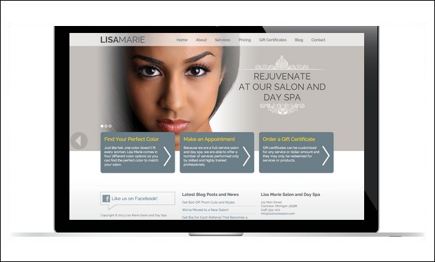 Lisa Marie - Genesis Framework WordPress Themes
