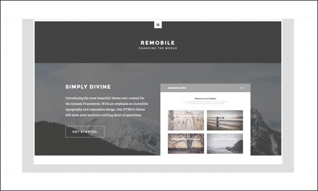 Remobile Pro - Genesis Framework WordPress Themes