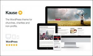 Kause - Crowdfunding WordPress Themes