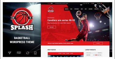 Splash - Basketball WordPress Responsive Themes